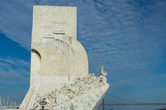 Monument to the Discoveries in Lisbon Royalty Free Stock Image