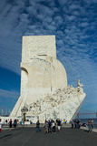 Monument to the Discoveries in Lisbon Stock Photography
