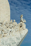 Monument to the Discoveries in Lisbon Royalty Free Stock Images