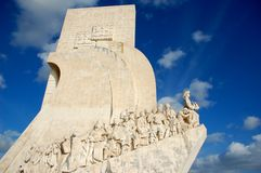 Monument to the Discoveries in Lisbon, Portugal Stock Image