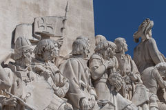 Monument to discoveries lisbon, portugal Royalty Free Stock Images