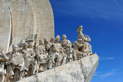 The Monument to the Discoveries, Lisbon, Portugal Royalty Free Stock Image
