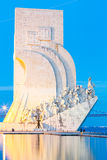 Monument to the discoveries Lisbon. Portugal stock images