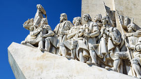 Monument to the Discoveries in Lisbon, Portugal Royalty Free Stock Photos