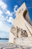 Monument to the Discoveries, Lisbon, Portugal Royalty Free Stock Photos