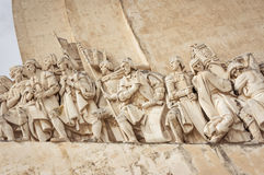 Monument to the Discoveries, Lisbon, Portugal Royalty Free Stock Photography