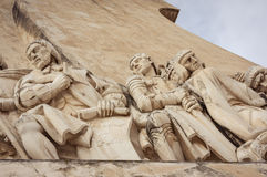 Monument to the Discoveries, Lisbon, Portugal Stock Images