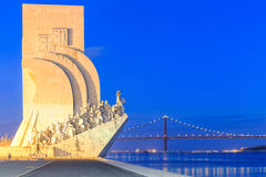 Monument to the Discoveries, Lisbon, Portugal. Stock Photo
