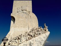 Monument to the Discoveries in Lisbon, Portugal. Stock Image