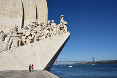 Monument to the discoveries Lisbon Portugal Stock Photography