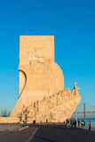 The Monument to the Discoveries Royalty Free Stock Photo