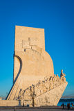 The Monument to the Discoveries Stock Photo