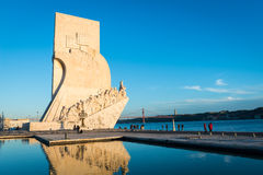 The Monument to the Discoveries Stock Photography