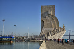 Monument to the Discoveries in Lisbon, Stock Photo