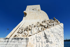 Monument to the Discoveries, Lisbon, Portugal. Monument to the Discoveries (Portuguese: Padrão dos Descobrimentos) at Belem district, Lisbon, Portugal Stock Image