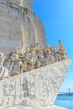 Monument to the Discoveries in Lisbon, Portugal Stock Images