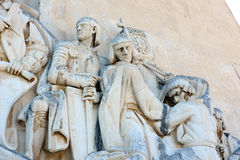 Monument to the Discoveries, Lisbon, Portugal Royalty Free Stock Images