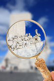 The Monument to the  Discoveries Royalty Free Stock Image