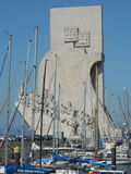 Monument To The Discoveries Through The Masts Stock Image