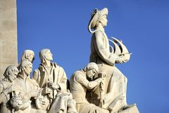 Monument to the Discoveries Royalty Free Stock Images