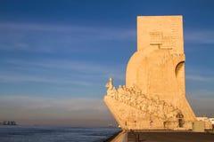 Monument to the Discoveries (Padrão dos Descobrimentos). In Lisbon, Portugal royalty free stock image