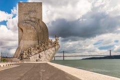 Monument to the Discoveries (Padrao dos Descobrimentos) Stock Photos