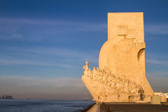Monument to the Discoveries (Padrão dos Descobrimentos) Royalty Free Stock Image