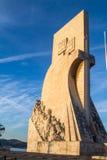 Monument to the Discoveries (Padrão dos Descobrimentos) Royalty Free Stock Photography