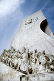Monument to the Discoveries in Portugal. Stock Photography