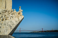Monument to the Discoveries Stock Images