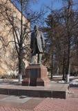 Monument to Dmitriev Fedor Mikhailovich Royalty Free Stock Photos