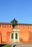 Monument to Dmitry Donskoy in Kolomna Royalty Free Stock Photography