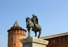 Monument to Dmitry Donskoy in Kolomna Stock Photos