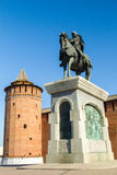 The monument to Dmitry Donskoy Stock Photography