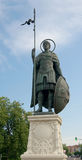 Monument to Dmitry Solunsky, Dmitrov town, Moscow region, Russia Stock Photo