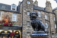 Free Monument To Dog Greyfriars Bobby, Edinburgh Royalty Free Stock Photo - 141213235