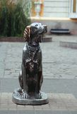 Monument to the Dog named White Bim Black Ear in Royalty Free Stock Photography