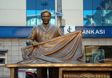 Monument  to Draper or  Craftsmen in Istanbul Royalty Free Stock Photo