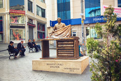 Monument to Draper in Istanbul Royalty Free Stock Images