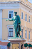 Monument to duke de Rishelyyo Royalty Free Stock Image