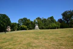 Monument to Duke Ernest II (Herzog Ernst II) in the Hofgarten garden in Coburg, Germany Royalty Free Stock Photos