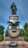 Monument to Emperor Alexander III in Irkutsk Russia Royalty Free Stock Photography