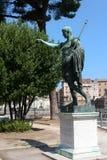 Monument to Emperor Augustus Stock Photos