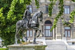 Monument to Emperor Franz First Austrian. Vienna. Austria Stock Images