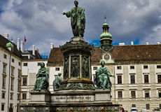 Monument to Emperor Franz I Royalty Free Stock Photo