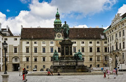 Monument to Emperor Franz I Stock Images