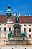 Monument to Emperor Franz Joseph I Stock Image