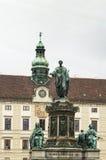 Monument To Emperor Franz 1, Vienna Stock Photos
