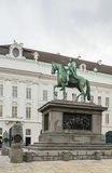 Monument to Emperor Joseph II, Vienna Royalty Free Stock Photography