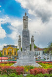 Monument to the emperor Jovan Nenad in Subotica city, Serbia Royalty Free Stock Photography